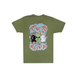 T-shirt Rip n' Dip manche courte coton col rond