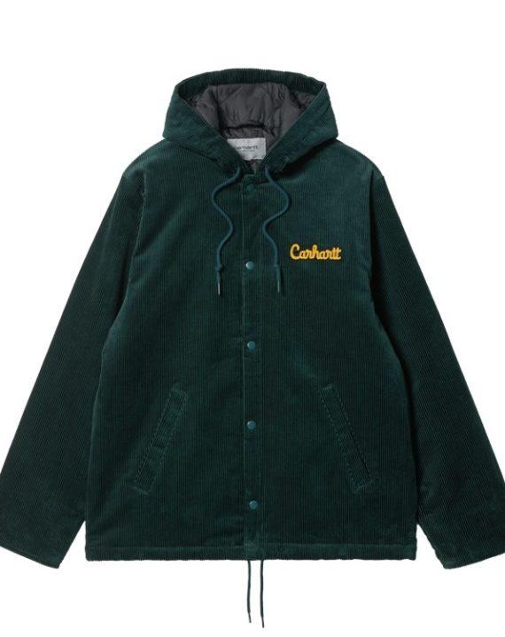 Veste d'hiver Carhartt WIP en velours avec doublure en nylon et empiècements brodés