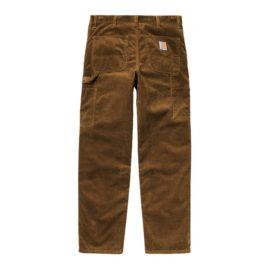 Pantalon en velours côtelé couleur marron avec poches utilitaires